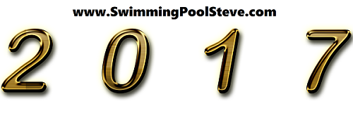 2017 year in review for swimming pool Steve