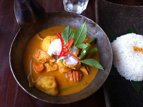 Amok curry Siem Reap Cambodia