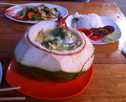 Khmer curry Siem Reap Cambodia