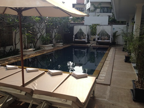 Rithy Rine Hotel Cambodia Swimming Pool