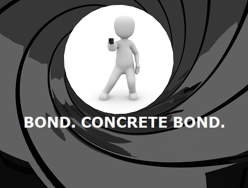 how to bond concrete