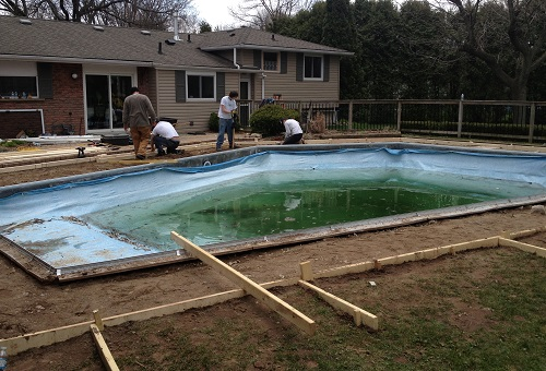 pool deck forms