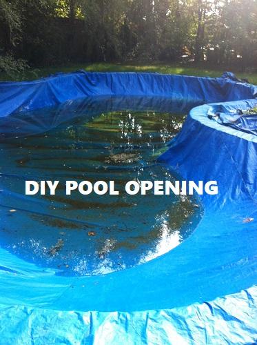 Diy pool opening diy openingg solutioingenieria Gallery