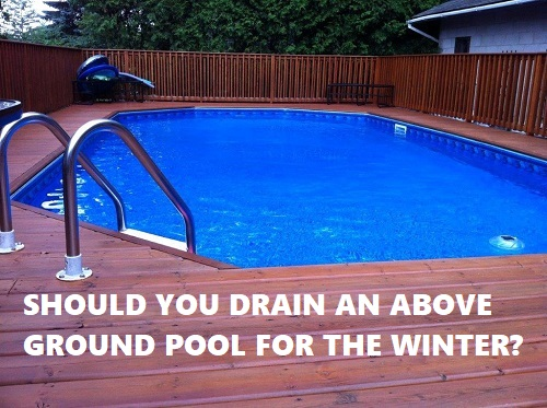 Should I Drain My Pool For The Winter?