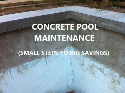 Easy fixes for concrete pool problems