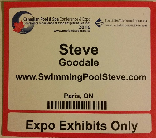 Canadian pool spa expo 2016 for Pool spa show 2016
