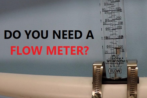 Do swimming pools need flow meters?