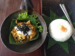 Khmer curry at the Temple Restaurant in Siem Reap