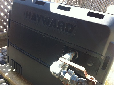 Hayward pool heaters for Pool heater and filter