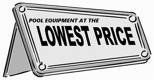 Internet pricing and warranty for pool equipment