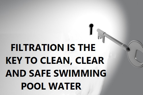 Filtration is key to clean pool water