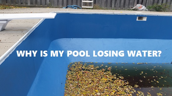 Why is my pool losing water?