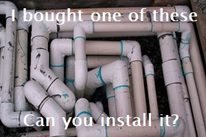confusing pool pipes