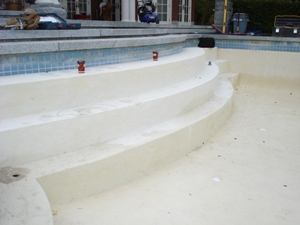 pool plaster repair