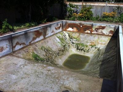 Vinyl Pool Floor Repairs