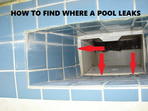 How to find where a pool leaks