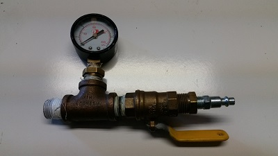 Pool Pressure Tester