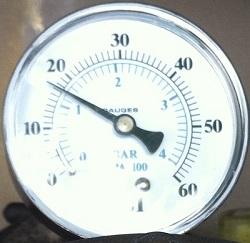 Swimming Pool Pressure Testing