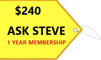 Ask Swimming Pool Steve 1 year membership
