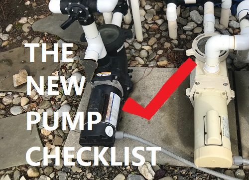 Buying A New Pool Pump Checklist