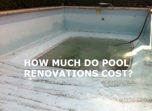Swimming Pool Renovation Costs