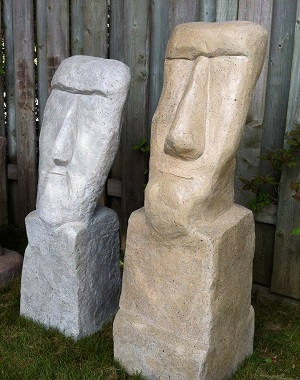 How to make fake rock statues