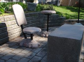 Artificial Rock Outdoor Furniture