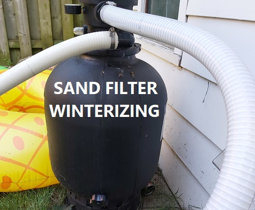 How To Winterize A Sand Filter