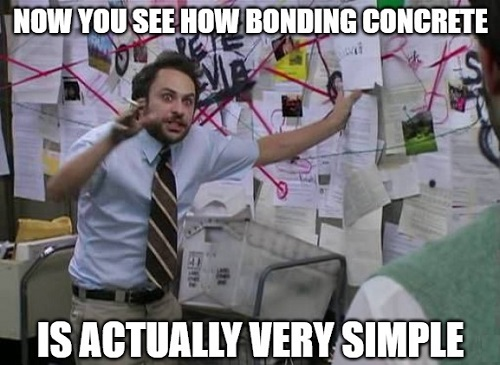 concrete bonding