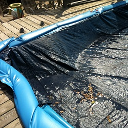 pool tarp cover
