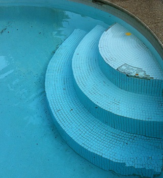 Pool step repair for Best thinset for swimming pool tile