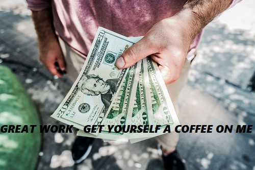 coffee money