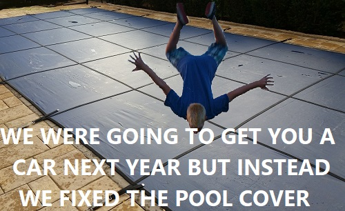 pool safety cover trampoline