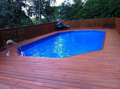 Deck Around The Pool Since A Safety Cover Is Installed Into Surrounding Your You Will Know Need
